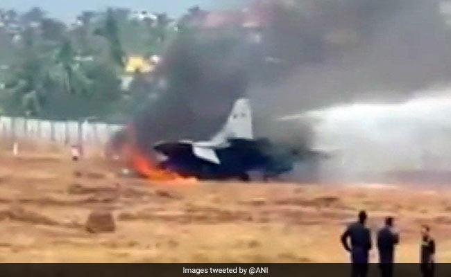 انڈین نیوی لڑاکا جیٹ حادثے کا شکار، پائلٹ محفوظ