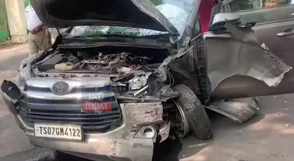 سابق وزیراعظم نرسمہا راو کی دختر کی گاڑی حادثہ کا شکار