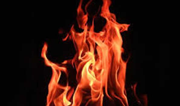 کیرتی نگر میں کباڑکی دکان میں آتشزدگی ، تین افراد کی موت