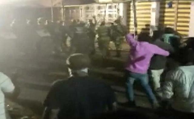 مونگیر میں مورتی ویسرجن کے دوران فائرنگ میں ایک کی موت ، چھ زخمی