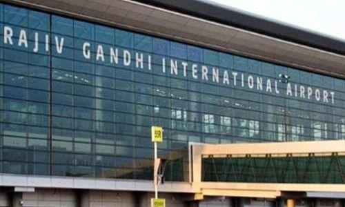 حیدرآباد کے شمس آبادایرپورٹ پر دو مسافرین کے پاس سے سونا اور بیرونی ممالک کے سگریٹس ضبط