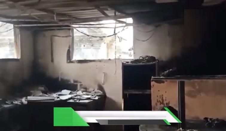 بیکری میں آگ لگ گئی،دس لاکھ روپئے کا نقصان