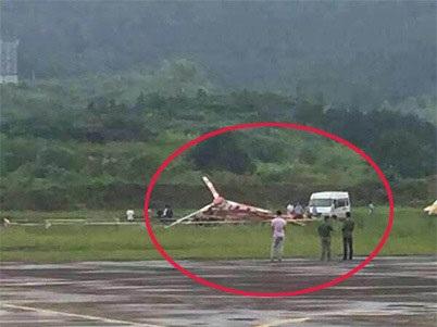 چین میں ہیلی کاپٹر حادثہ، پانچ کی موت