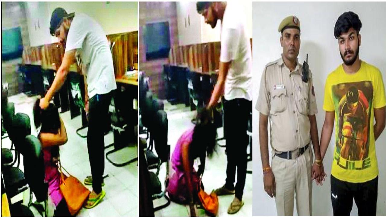 دہلی میں لڑکی کی پٹائی کرنے والا اور ویڈیو بنانے والا گرفتار