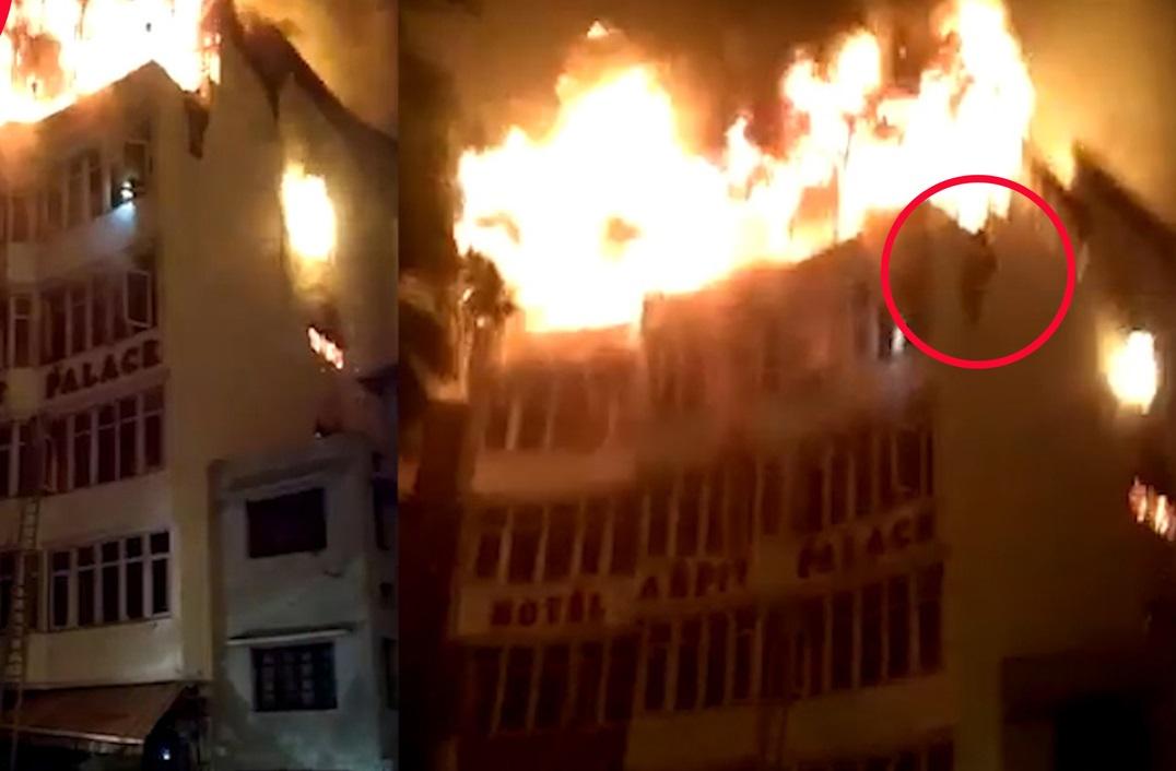 دہلی کے ارپت ہوٹل میں آگ،17کی موت، کئی جھلسے