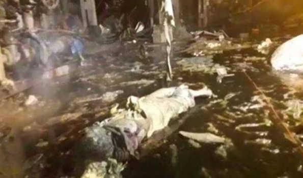 بہار میں چینی مل میں بائیلر پھٹنےسے پانچ مزدور ہلاک،7 زخمی