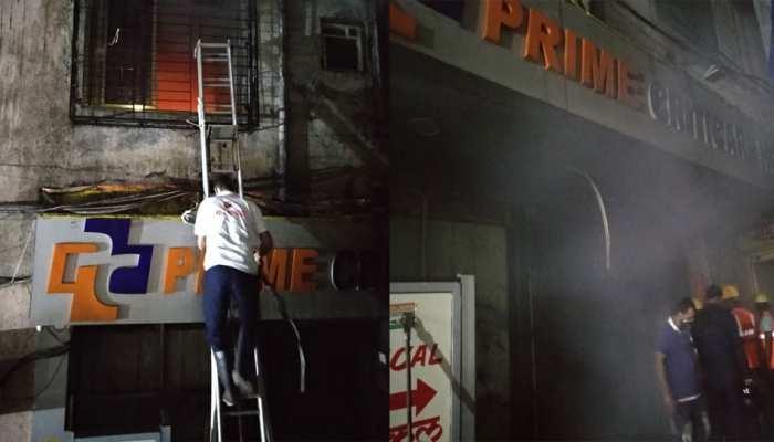 پرائیویٹ اسپتال میں آتشزدگی، چار مریضوں کی موت
