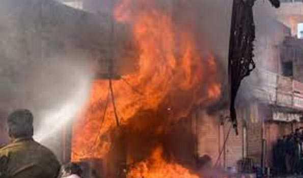 پٹاخہ فیکٹری میں دھماکہ، 9 خواتین کی موت