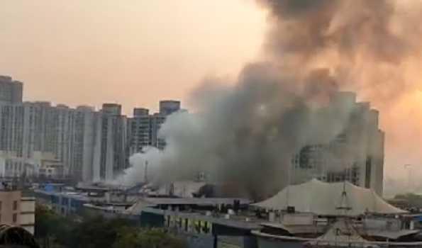 ممبئی کورونا سینٹر میں آتشزدگی ، 70 مریضوں کو بچایا گیا