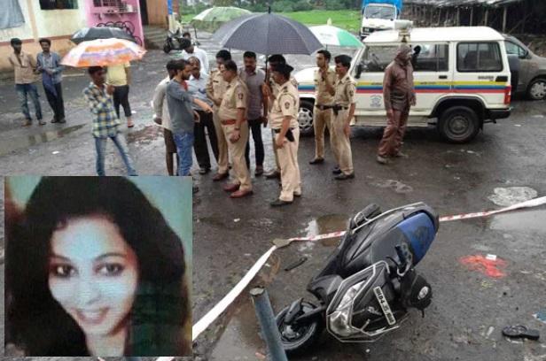 کلیان میں بیچ سڑک پر خاتون کو چاقوسے کردیا قتل