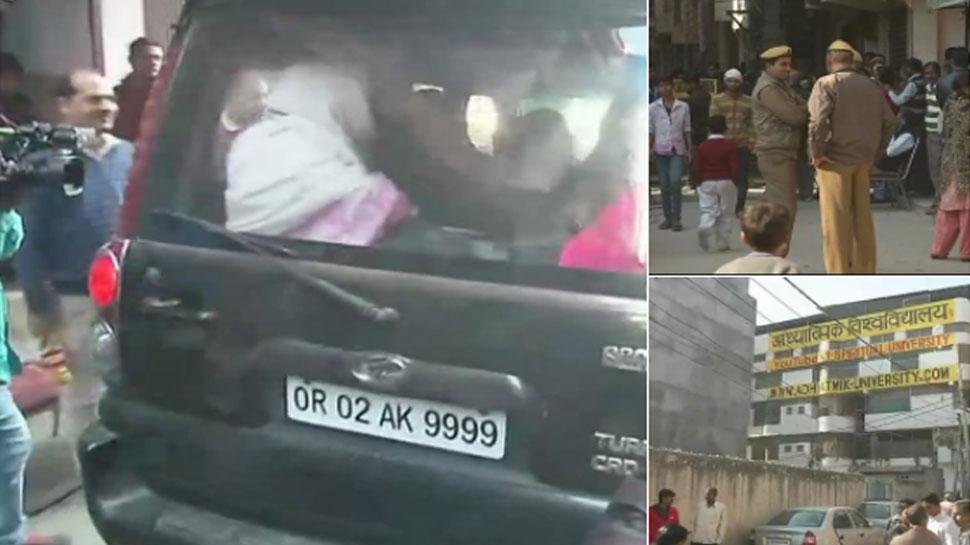 دہلی: روہنی آشرم میں پھر سے آزاد کرائی گئی لڑکیاں ، خود کو بھگوان بتانے والا بابا غائب