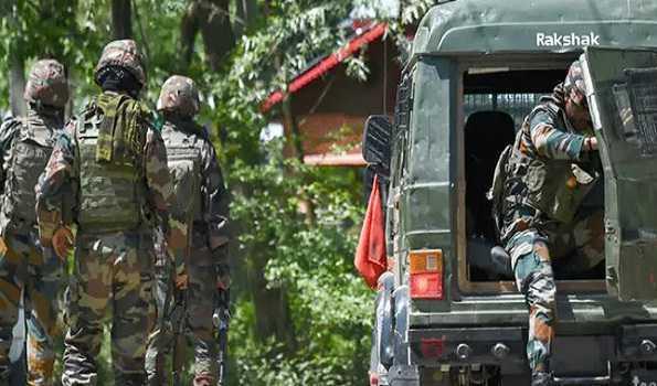شوپیاں میں چار افراد گرفتار، اسلحہ برآمد