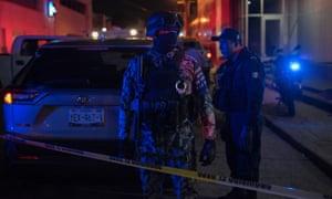 میکسکو کے بار میں آگ لگنے سے 23 افراد ہلاک