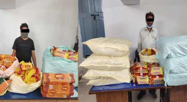 حیدرآباد میں چار افراد گرفتار، 3 لاکھ روپے مالیت کا گٹکھا ضبط