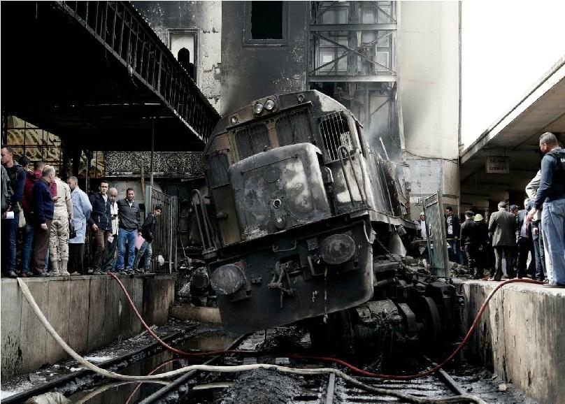 مصر میں ریلوے اسٹیشن پر آتشزدگی، 20 افرادہلاک