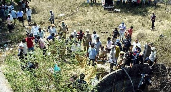 تلنگانہ:9افراد کو ہلاک کرنے والے مجرم کو پھانسی کی سزا،مقامی افراد نے مسرت کا اظہار کیا