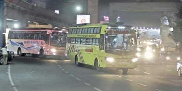 حیدرآباد:انوکھے قسم کے ہارنس،100بسوں کے مالکین کیخلاف معاملہ درج