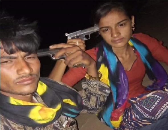 راجستھان: پریمی جوڑے نے فلم ی اسٹائل میں ایک-دوسرے کو ماری گولی