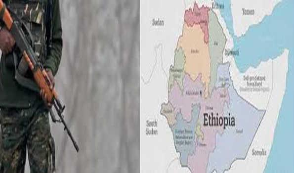 ایتھوپیا: بندوق برداروں کے حملے میں 90 سے زائد افراد ہلاک