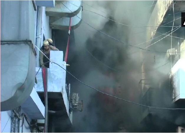 لودھیانا کی کپڑا فیکٹری میں لگی آگ، لاکھوں کا نقصان