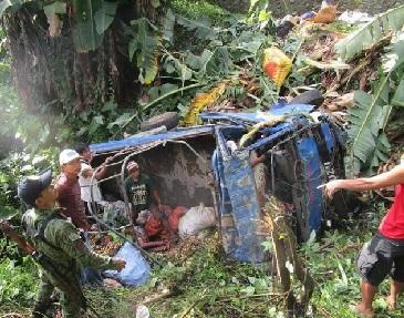 فلپائن میں سڑک حادثے میں سات لوگوں کی موت،دوزخمی