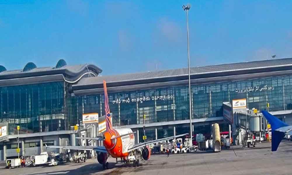 حیدرآباد کے شمس آباد ایرپورٹ پر طیارہ کی ایمرجنسی لینڈنگ