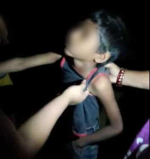 آسام: لچی چوری کے الزام میں 5 لوگوں نے 8 سالہ بچے کو بے رحمی سے پیٹا