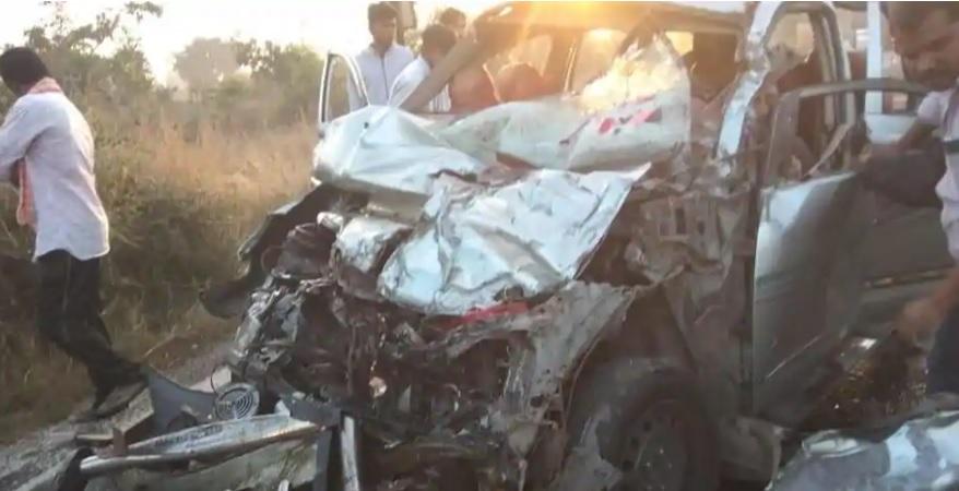 تلنگانہ کی حیدرآباد۔بیجاپور شاہراہ پر سڑک حادثہ۔ایک ہی خاندان کے 8افراد ہلاک