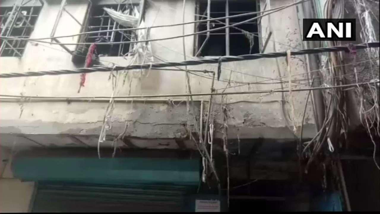 دہلی میں کرول باغ میں فیکٹری میں لگی آگ، دو خواتین سمیت چار کی موت