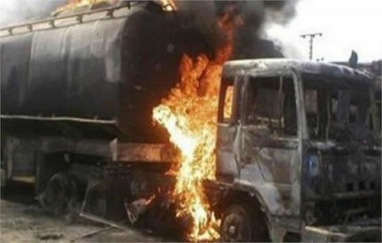 یوگنڈا : تیل ٹینکر میں آگ لگنے سے 20 افراد ہلاک، کئی زخمی