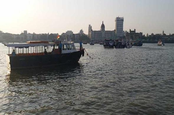 ممبئی: شیوا جی یادگار کے پاس ڈوبی کشتی، 25 لوگ محفوظ، ایک شخص لاپتہ