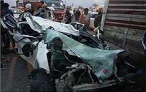 سانبہ میں سڑک حادثہ، 3 ہلاک اور دیگر 4 زخمی