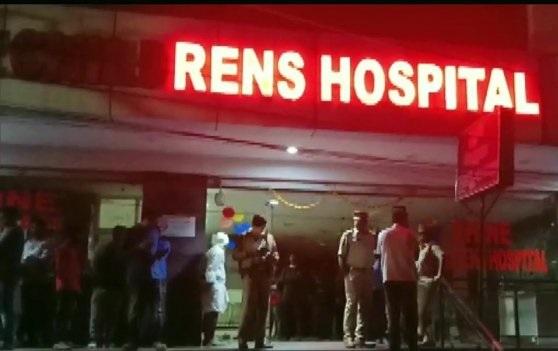 حیدرآباد:پرائیویٹ اسپتال کے ایمرجنسی وارڈ میں آگ۔ایک بچہ کی موت،دیگر پانچ جھلس گئے