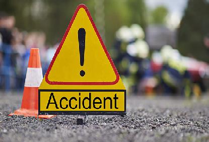 تلنگانہ کے یادادری بھونگیر ضلع میں سڑک حادثہ۔ بس ڈرائیور ہلاک اور دس مسافرین زخمی