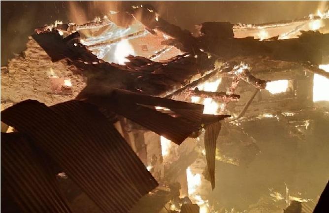 شملہ: گاؤں میں لگی آگ سے 7 گھر جل کر خاکستر