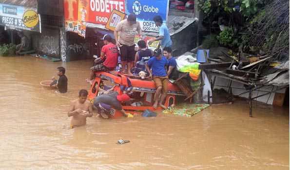 فلپائن میں زمینی تودے گرنے کا حادثہ،90افراد ہلاک