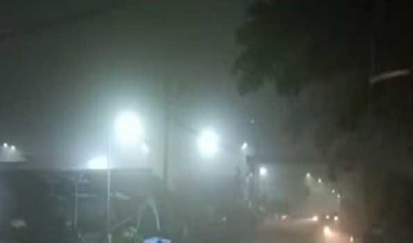 ضلع تھانہ کے بدلا پور میں گیس کا رساؤ