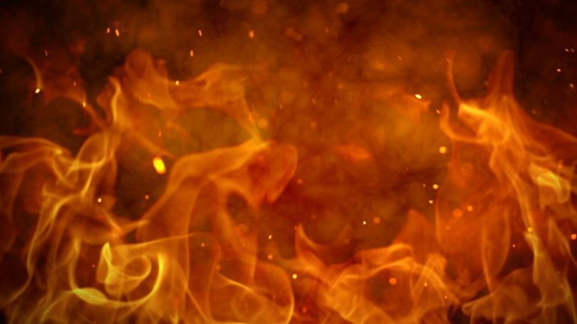 کوٹلہ  میں ٹینٹ کے گودام میں آگ