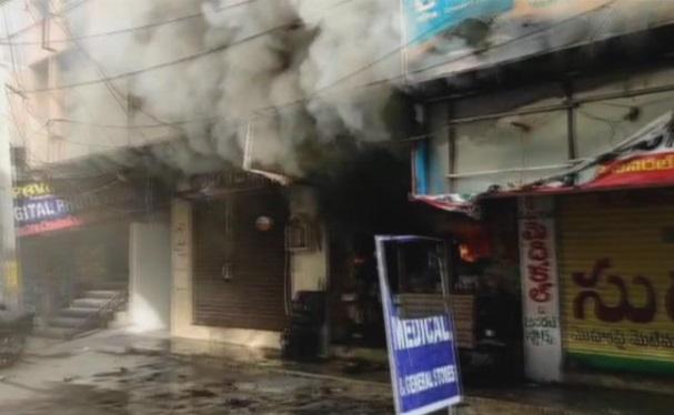 حیدرآباد: کوکٹ پلی میں آتشزدگی کا واقعہ