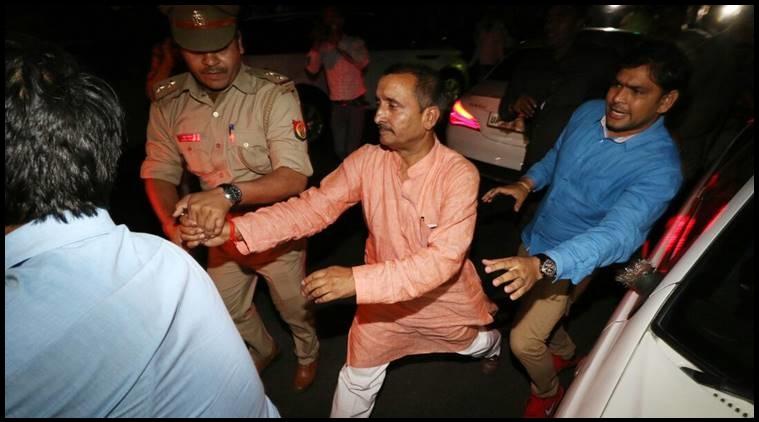 اناؤ عصمت دری سانحہ کا ملزم ممبر اسمبلی  گرفتار