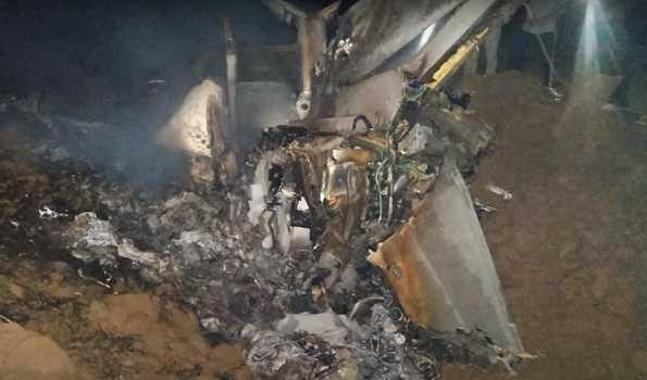 پنجاب کے شہر موگا میں مگ 21 لڑاکا طیارہ حادثہ کا شکار ، پائلٹ شہید