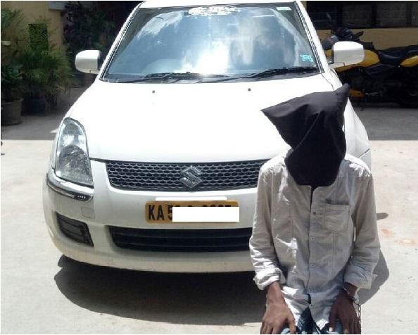 بنگلور: اولا کیب ڈرائیور کے ساتھ چھیڑچھاڑ: خاتون کی کھینچی تصویریں
