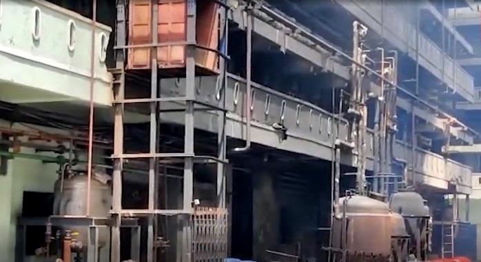 حیدرآباد: کمیکل فیکٹری میں بڑے پیمانہ پر آگ لگ گئی