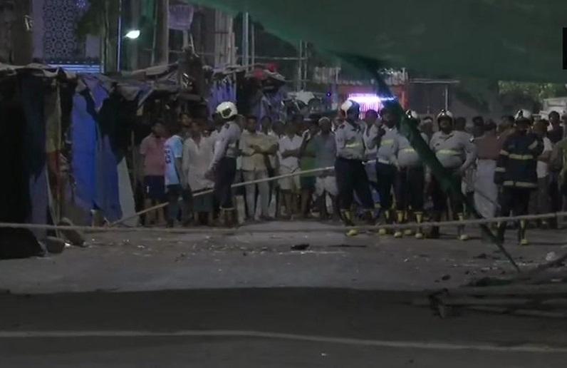ممبئی کے دھاراوی میں زیر تعمیر عمارت گرنے سے 1 کی موت، 3 زخمی