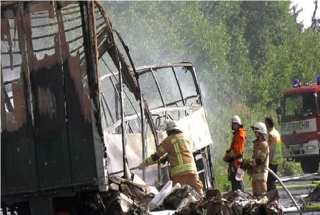 میکسیکو کے پیوبلا میں ٹرک حادثہ ،18 افراد ہلاک