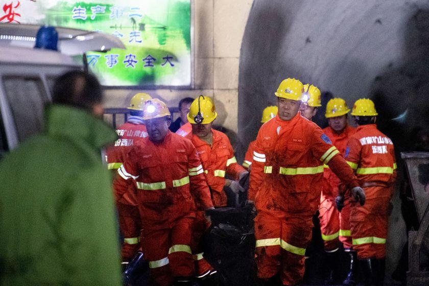 چین میں کوئلے کی کان میں دھماکہ ، 15 ہلاک، 9 زخمی