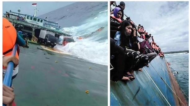 انڈونیشیا میں کشتی ڈوبنے سے 29 افراد ہلاک
