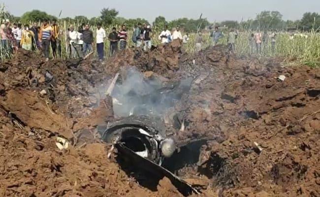 ہندوستانی فضائیہ کا مراج لڑاکا طیارہ گر کر تباہ
