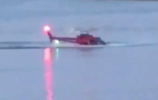 ہیلی کاپٹر دریا میں گر کرڈوب گیا :نیویارک