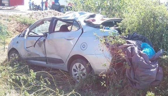 تلنگانہ: نارائن پیٹ میں سڑک حادثہ، 4 افراد کی موقع پر ہی موت